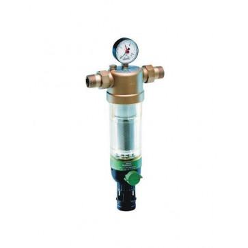 Фильтр тонкой очистки с обратной промывкой для холодной воды HONEYWELL F76S DN15-DN50 (нар-нар)