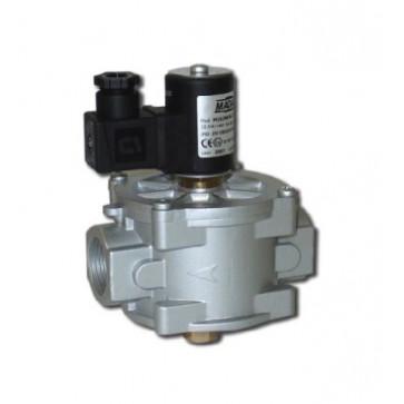 Клапан электромагнитный газовый MADAS M16/ RM N.C. DN 32-DN 200 (ручной взвод), 6 бар