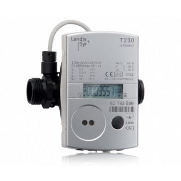 Ультразвуковой квартирный счетчик тепла Landis+Gyr Ultraheat T230 DN15-DN20 (нар-нар)