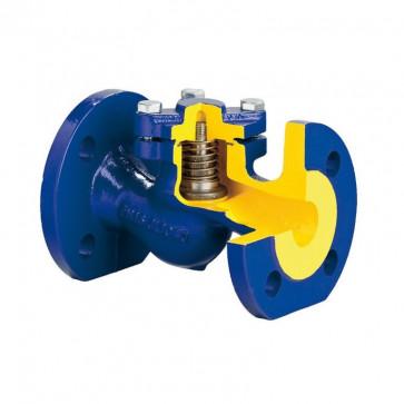 Клапан обратный подъемный фланцевый ZETKAMA 287 DN100