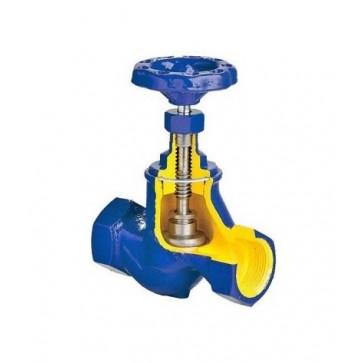 Клапан запорный резьбовой ZETKAMA 201 DN15-DN25