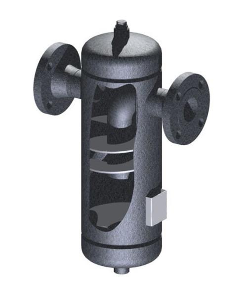 Сепаратор пара центробежного типа СП-25 DN15 - DN200 (PN16)