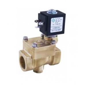 Клапан электромагнитный комбинированного действия ODE DN15-DN25 (PTFE)
