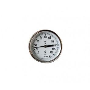 Термометр биметаллический осевой ТБ 100-100