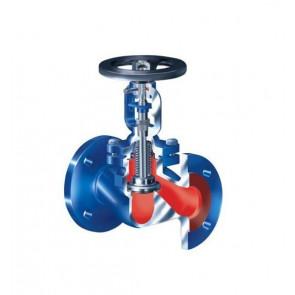 Клапан запорный фланцевый ARI-FABA-Plus 12.046 DN15-DN300 (сильфон) PN16
