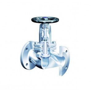 Клапан запорный фланцевый ARI-FABA-Plus 35.046 DN15 -  DN250 (сильфон)