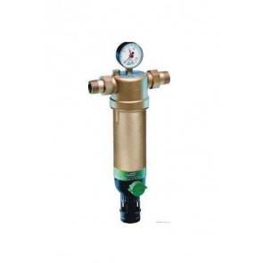 Фильтр тонкой очистки с обратной промывкой для горячей воды HONEYWELL F76S DN15-DN50 (нар-нар)