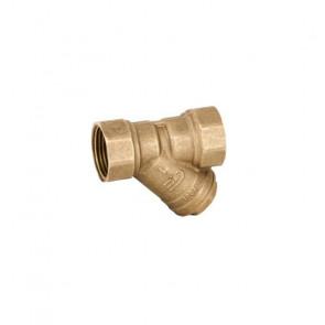 Фильтр сетчатый для воды резьбовой GENEBRE 3302 DN15-DN50 (вн-вн)