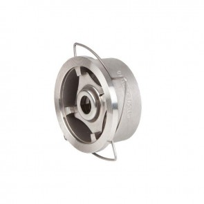 Клапан обратный межфланцевый пружинный н/ж GENEBRE DN15-DN200