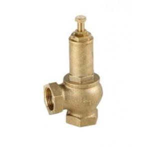 Клапан предохранительный резьбовой GENEBRE DN15-DN50 (регулировка 1-12 бар)