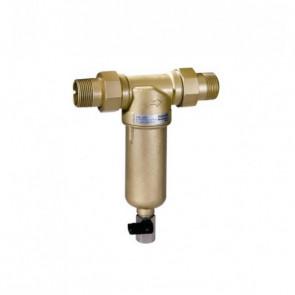 Самопромывной фильтр тонкой очистки для горячей воды HONEYWELL Mini Plus FF06 DN15-DN32 (нар-нар)