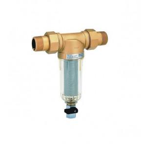 Самопромывной фильтр тонкой очистки для холодной воды HONEYWELL Mini Plus FF06 DN15-DN32 (нар-нар)