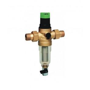 Комбинированный фильтр с редуктором для холодной воды HONEYWELL Mini Plus FK06 DN15-DN32 (нар-нар)