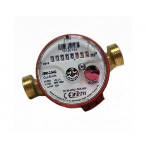 Cчетчик горячей воды (импульсный) Powogaz JS90-2,5 (NK) DN15