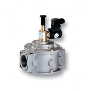 Клапан электромагнитный газовый MADAS M16/ RM N.A. DN 32-DN 200 (ручной взвод), 0,5 бар