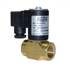 Клапан электромагнитный газовый муфтовый MADAS EVO/NC DN 15 (автомат)