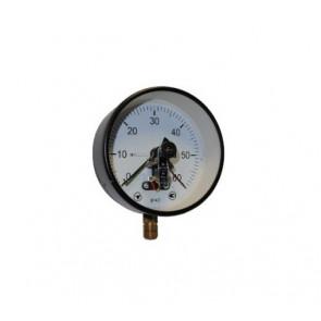 Манометр электроконтактный Ø 160 мм (250 кПа - 6 МПа)