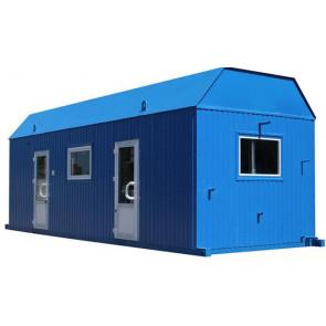 Модульная транспортабельная котельная установка МТКУ-1,4Г(П) с бытовыми помещениями мощностью 1,4 МВт