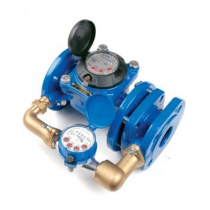 Cчетчик холодной воды спаренный Powogaz MWN/JS-S DN50-DN150