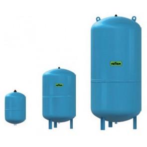 Мембранный бак Refix серии DE junior для систем водоснабжения, 10 бар (25-600 л)