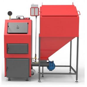 Котел твердотопливный стальной РЕТРА 4М (25 - 98 кВт)