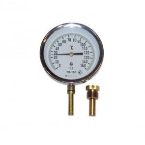 Термометр биметаллический радиальный ТБ 100-100