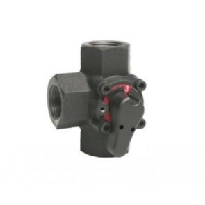 3-х ходовой поворотный смесительный клапан Honeywell V5433A DN20-DN50 (вн-вн)