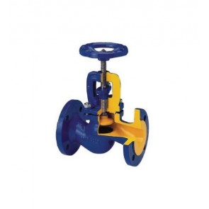 Клапан запорный фланцевый ZETKAMA 215 DN15-DN300 (сальник)