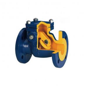 Клапан обратный поворотный фланцевый ZETKAMA DN40-DN300